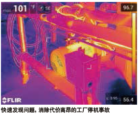 Thermal image for infrared measurement