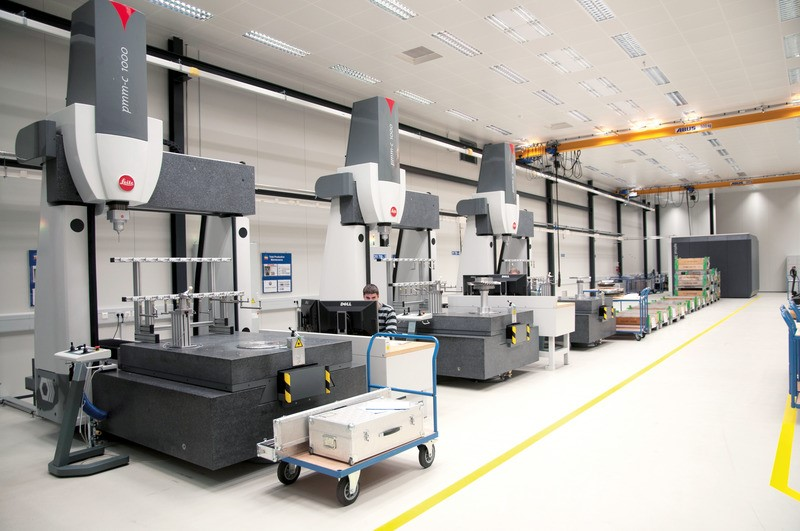 Digital control of the mold processing in laboratory