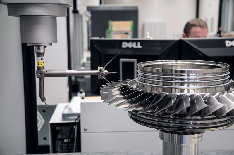 High-precision measuring machine provides high-precision measurement for German engine companies